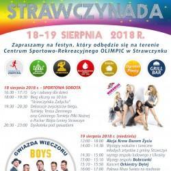 STRAWCZYNADA 2018 - zapraszamy na święto gminy Strawczyn