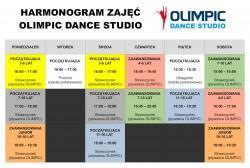 Nowy harmonogram zajęć tanecznych