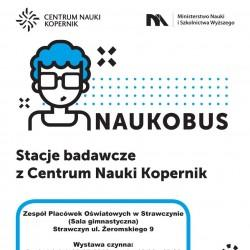 Nauka przez eksperymentowanie – do gminy Strawczyn zawita Naukobus!