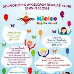 Dzień Dziecka w Kielcach trwa aż 4 dni!