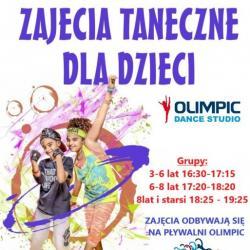 Zajęcia taneczne dla dzieci - startujemy od października